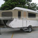 Fiberglass Camper travel trailer caravan two bed