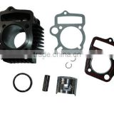 90cc 110cc cylinder barrel head & piston kit lifan pit dirt monkey falcon bike