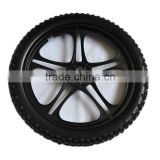 20 inch solid alloy wheels for push bikes