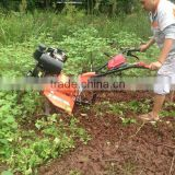 Multi-function Diesel Gear Driving Cultivator Tractor 10hp diesel power tiller rotavator with electric starter