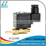 "1/8""x6.5mm Brass steam powered electric generator 12V 36V 110V magnetic Valve ZCQ-05B"