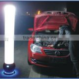 Portable emergency LED rechargeable lighting tower
