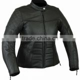 Leather motorbike Jacket for Women's