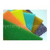 Color Dust Proof Air Filter Foam , Anti Radiation Insulation Industrial Foam Padding