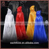 Halloween Death Dress Wizard Cosplay Long Costume Cloak with Hat