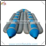 Manufactural inflatable banana boat, inflatable flying fish for water game, inflatable water toy for amusement
