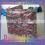 Good price inflatable paintball bunkers wall