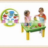 plastic play sand and water table desk toy