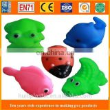 pvc animal toys bath toys , baby vinyl bath toys, 3d custom vinyl bath toys for children