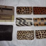 new LEATHER TOBACCO POUCH PURSE with fur models 100 PCS