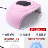 Cnd Led Lamp Nail Polish Dryer Color White
