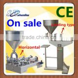 High Quality Cosmetic Cream Filling Machine , Single Nozzle Semi Automatic Cream Filler For Tomato Sauce,Paste,Ointment