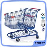 250L commercial personal grocery shop cart