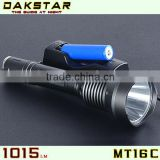 DAKSTAR MT16C 1015LM 18650 Rechargeable Tactical CREE XML T6 led Flashlight