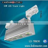 modular designed bridgelux sharp epistar chip commercial led track light for shop window