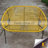 Outdoor wicker furniture synthetic rattan colorful material leisure chair lounge chair                                                                         Quality Choice