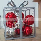 Gift box light Xmas holiday decoration light shopping Mall decor indoor and outdoor decor