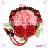 Adjustable Wire Bangle Bracelet Wholesale Fashion Pure Hand-woven Tibetan Ethnic Wind Flower Bracelet