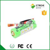 INQUIRY ABOUT battery CR17450SE-R,3V PLC lithium battery with connector