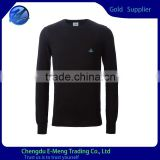 High Quality Wholesale OEM Supplier Chest Embroidery Sweatshirt