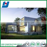 Pre-engineered light gauge steel modular building assembled in China steel structure building