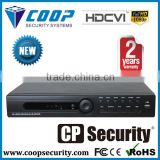 Analog 4 Channel 1080P Preview 1U H.264 CCTV HD CVI DVR