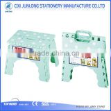 Small plastic folding step stool with EN14183