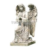 Napco Kneeling Praying Angel on Pedestal Garden Statue