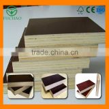 China best price commercial brown/black/red Film Faced Plywood price, film faced 18mm 4x8 shuttering plywood