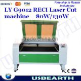 LYG9012 CO2 Laser Engraving machine, laser cutting machine,80W,220V/110V,Super quality laser CNC router.                                                                         Quality Choice