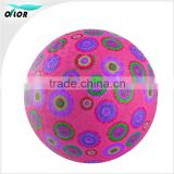 Nontoxic Playground Ball Made of Natural Rubber Available in Various Sizes Colors