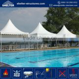 Lastest design long life span prefabricated canopy portable waterproof pool gazebo tents