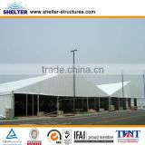 Fancy Rainproof, fire retardant, UV-protection PVC wedding marquee wooden flooring tent with wooden floor for outdoor usage