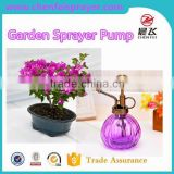 Flower dispenser pump garden sprayer pump in any color plastic small garden pressure use in bottle office need it