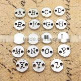 OEM Silver Plated Alphabet Charms Wholesale Initial Letters Charms