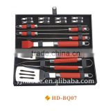 16 pcs BBQ set with plastic case