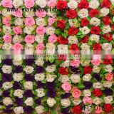 high quality mixed colors fabric artificial flower for wall decoration for wedding,home or party,( MFL-018)