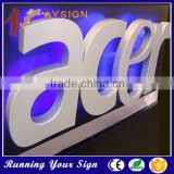 outdoor seamless stainless steel led backlit letter sign                                                                         Quality Choice