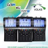 INquiry about ISDBT & DVB-S2 compliant HD Terrestrial television meter Satellite finder meter VT707