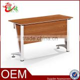 office supply new design panel furniture cheap metal frame legs student desk school furniture study writing table