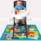 Colorful printing China supplier disposable Floor Mat place mat
