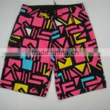 Printing Mens stretch Swimwear box brief/Board sublimation shorts/sublimation printed board shorts/men cheap board shorts