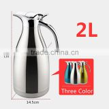 Thermal Carafe,Stainless Steel Induction Water Pitcher Tea Pot Jug Flask Coffee Carafe Coffee Pot