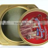Alibaba China/ express/ 2014new export/health/Solid/Clamshell Cookies tin boxes/cans/pots for gum/mints/candy/Cookies