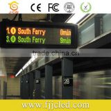 low price outdoor dual coloe led display board for advertising(P10)