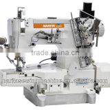 NT 664-01CB/AT direct drive high speed cylinder bed Interlock Sewing Machines with auto trimmer