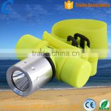 Wholesale high power xm-l T6 18650/3*AAA Battery Type CE,RoHS Certification Diving head lamp Flashlight                                                                                                         Supplier's Choice