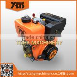 YASHIDA 173F 5HP Single Cylinder Air Cooled Diesel Engine Light Vertical Type Recoil Starting