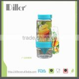 oem fruit water bottle / plastic drink sports bottle / fruit detox water bottle                                                                         Quality Choice