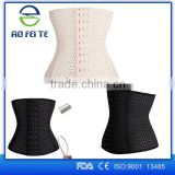 2016 Aofeite wholesale 9 steel bones waist training corset with zipper&clips                                                                         Quality Choice